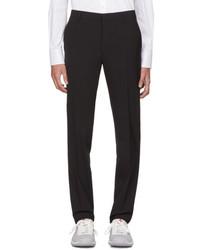 Prada Black Wool Trousers