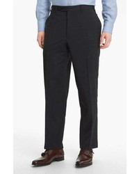 Canali Classic Fit Wool Dress Pants
