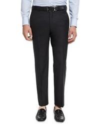 Peter Millar Collection Multi Season Merino Wool Flat Front Trousers