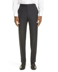 Canali D7 Textured Wool Trousers