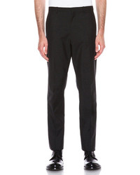 Jil Sander Daniele High Rise Tapered Wool Blend Trouser