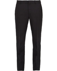 Alexander McQueen Embroidered Wool Trousers
