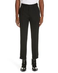 Calvin Klein 205W39nyc Pleated Gabardine Wool Trousers