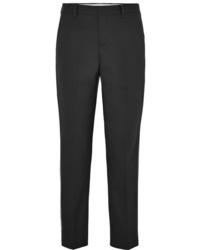 Miu Miu Sequined Wool Blend Straight Leg Pants