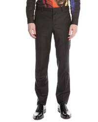 Givenchy Stretch Wool Suit Trousers Black