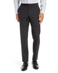 Nordstrom Men's Shop Trim Fit Stretch Wool Pants