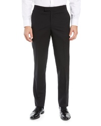 Nordstrom Men's Shop Trim Fit Stretch Wool Tuxedo Trousers