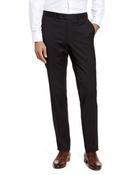 Nordstrom Men's Shop Trim Fit Wool Blend Trousers