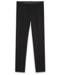 Gucci Wool And Leather Evening Pant