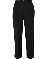 Prada Wool And Mohair Blend Pants