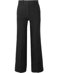 Valentino Wool And Straight Leg Pants