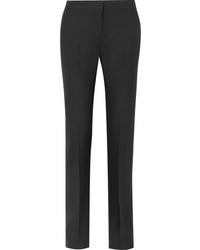 Alexander McQueen Wool Blend Straight Leg Pants