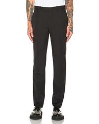 Alexander McQueen Wool Mohair Trousers