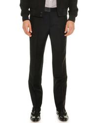 Alexander McQueen Woolmohair Trousers Black