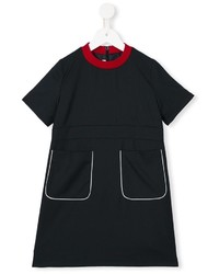 Marni Kids Contrast Trim Shift Dress