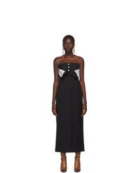 Acne Studios Black Dagila Tuxedo Dress