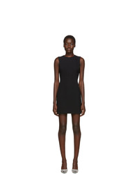 Dolce And Gabbana Black Sleeveless Flared Dress
