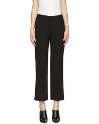 Stella McCartney Black Crop Flare Trousers