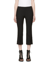 Neil Barrett Black Wool Flared Trousers