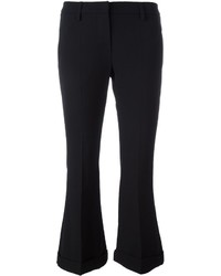 Brunello Cucinelli Flared Cropped Trousers