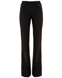 Chloé Chlo Flared Leg High Rise Trousers