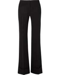Stella McCartney High Rise Wool Flared Pants
