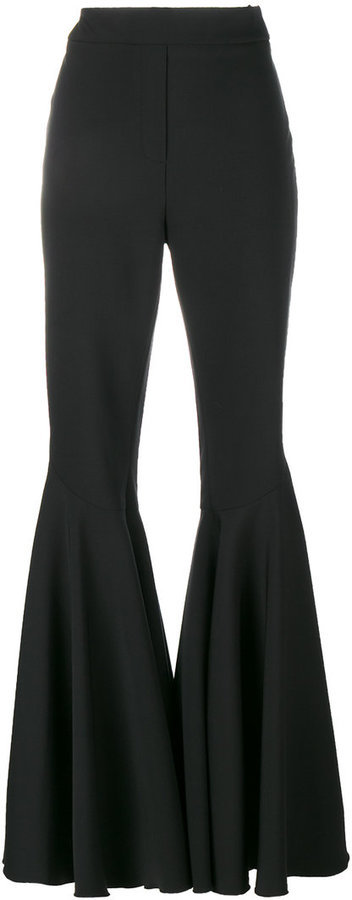 Ellery Jacuzzi Flared High Waisted Trousers