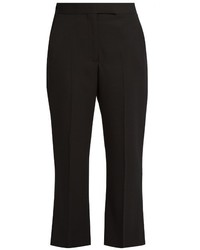 Alexander McQueen Kick Flare Cropped Tailored Trousers