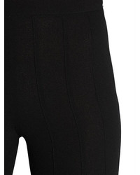 Marco De Vincenzo Flared Wool Crepe Pants