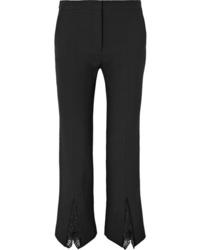 Alexander McQueen Med Wool Blend Bootcut Pants