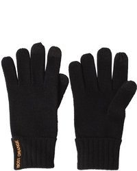 Black Wool Gloves