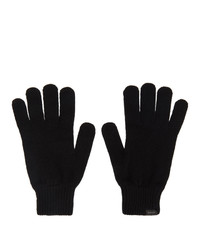 Paul Smith Black Cashmere Gloves