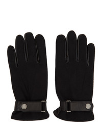 Polo Ralph Lauren Black Hybrid Touch Gloves
