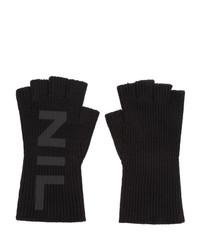 Julius Black Nilos Fingerless Gloves