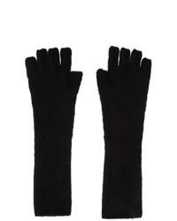 Isabel Benenato Black Yak Fingerless Gloves