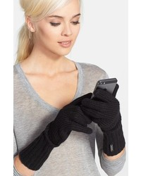 Burberry Cashmere Blend Touch Tech Knit Gloves