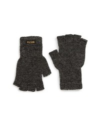 Filson Fingerless Wool Blend Knit Gloves