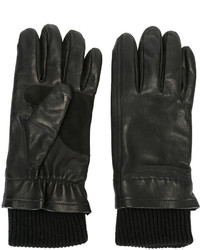 AMI Alexandre Mattiussi Leather Gloves