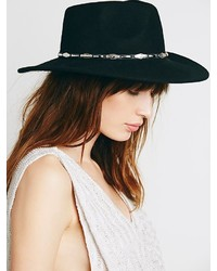 Free People Bandit Embellished Rancher Hat