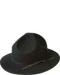 Bailey Of Hollywood Baron 37306 Black Wool Hats