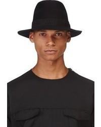 Lanvin Black Wool Fedora