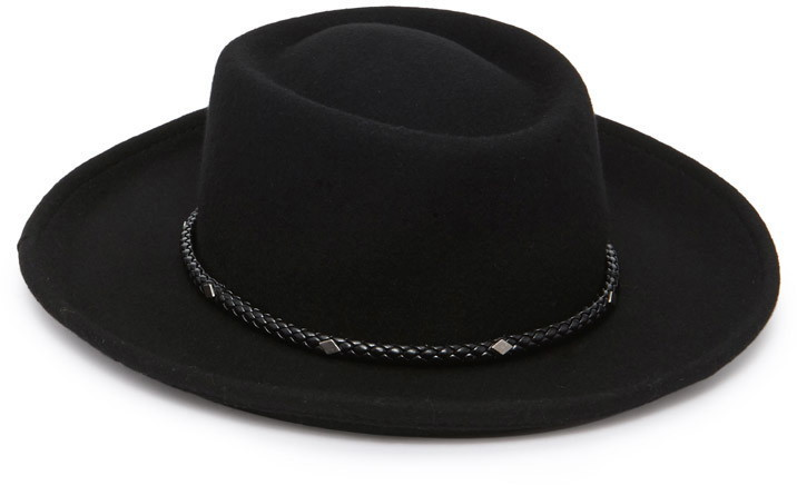 8d1a212d2e33e Forever 21 Braided Band Bolero Hat, $17 | Forever 21 | Lookastic.com