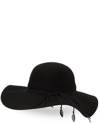 BCBGeneration Charming Felt Wool Floppy Hat