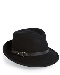 Classic wool fedora black medium 326170