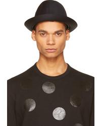 Comme des Garcons Comme Des Garons Shirt Black Printed Trim Fedora