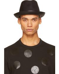 Comme des Garcons Comme Des Garons Shirt Black Striped Trim Fedora
