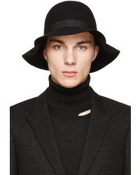 CNC Costume National Costume National Black Merino Fedora