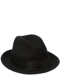 03b967143d412 Stacy Adams Crushable Wool Felt Snap Brim Fedora Hat