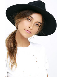 Billabong Daydream Black Fedora Hat