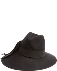 Etro Decorative Bow Wool Felt Hat